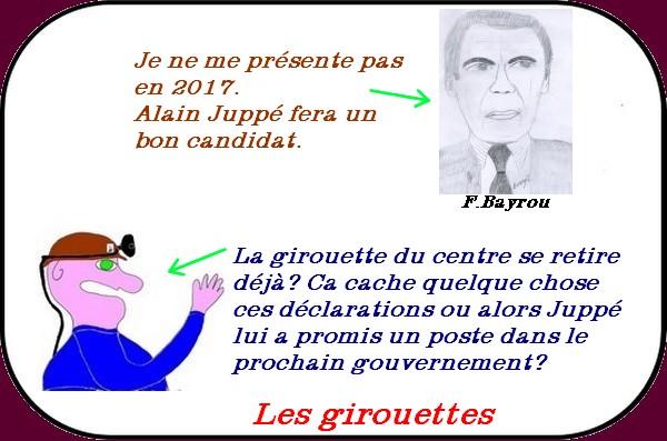 Morano, Bayrou et Mélenchon ou le bal des girouettes.