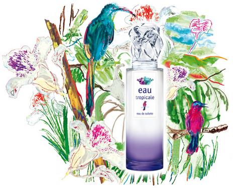 Nouveauté parfum: L'Eau Tropicale de Sisley