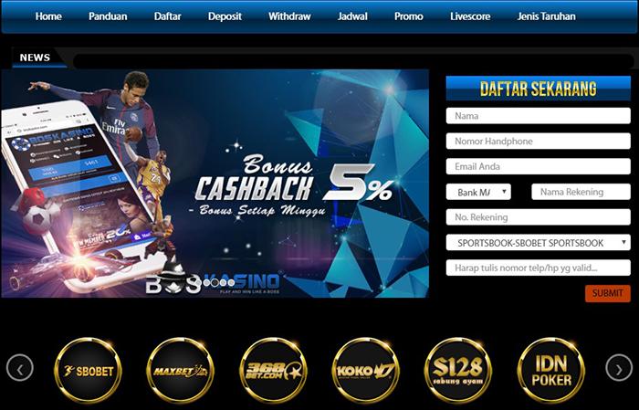 Agen Judi Casino dan Bola Terpercaya - BosKasino
