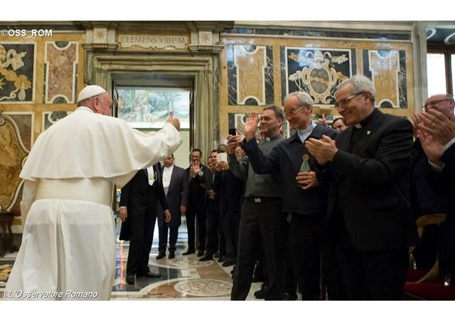 Audience aux religieux de don Orione, L'Osservatore Romano