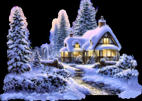 Paysages hiver trouvé sur le net