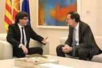 """21.04.16 : President Puigdemont: """"Rajoy no ha donat cap marge d'acord sobre el referèndum"""""""