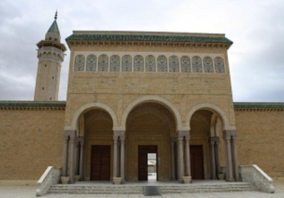 Entrée de la Mosquée Bourguiba