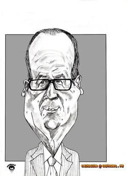 François Hollande_Mezouzaï caricatures