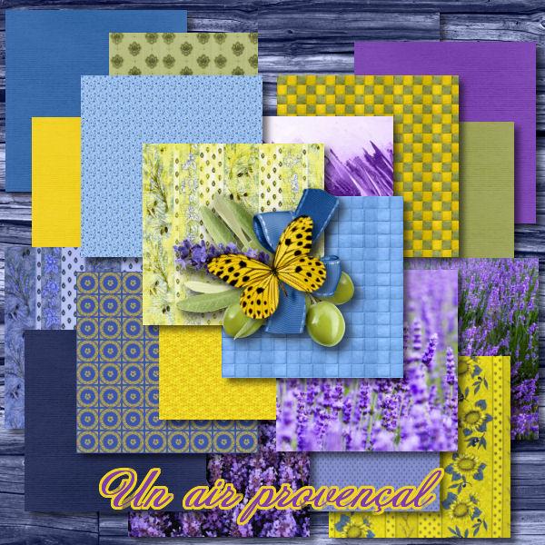 """Un air provençal"" by Scrap'Angie"
