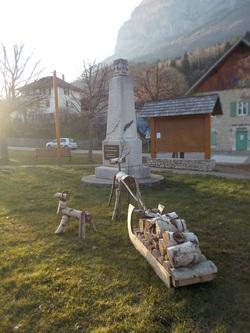 Les monuments commémoratifs en Isère (communes de S à Z)