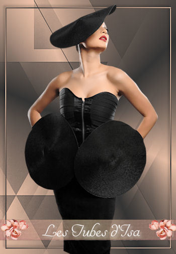 FAC0053 - Tube femme chapeau