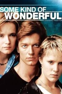 Some Kind of Wonderful (Coeur et Trio )(1987) : Keith est un adolescent artiste qui est amoureux de la plus belle fille du lycée. Lorsque celle-ci rompt avec son petit ami, il tente sa chance grâce à l'aide de sa meilleure amie, Watts, qui est, quant à elle, amoureuse de Keith...... ----- ..... Réalisation : Howard Deutch  Décors : Linda Spheeris  Photographie : Jan Kiesser  Musique : Stephen Hague (en) et John Musser  Année de sortie(s) : 1987 Durée : 93 minutes Pays d'origine : États-Unis