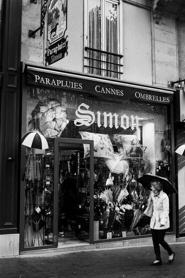 Les boutiques de parapluies