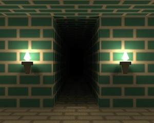 Jouer à Escape from the brick maze