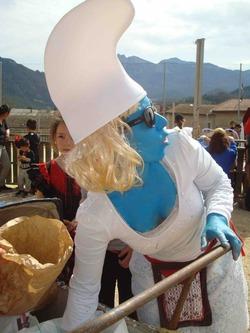 —- Carnaval de Saillans - Qui es-tu Strumpfette ? —-