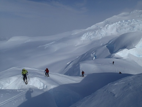 Ski Alpinisme d'exploration dans le Sud de la Péninsule Antarctique en février et mars 2016
