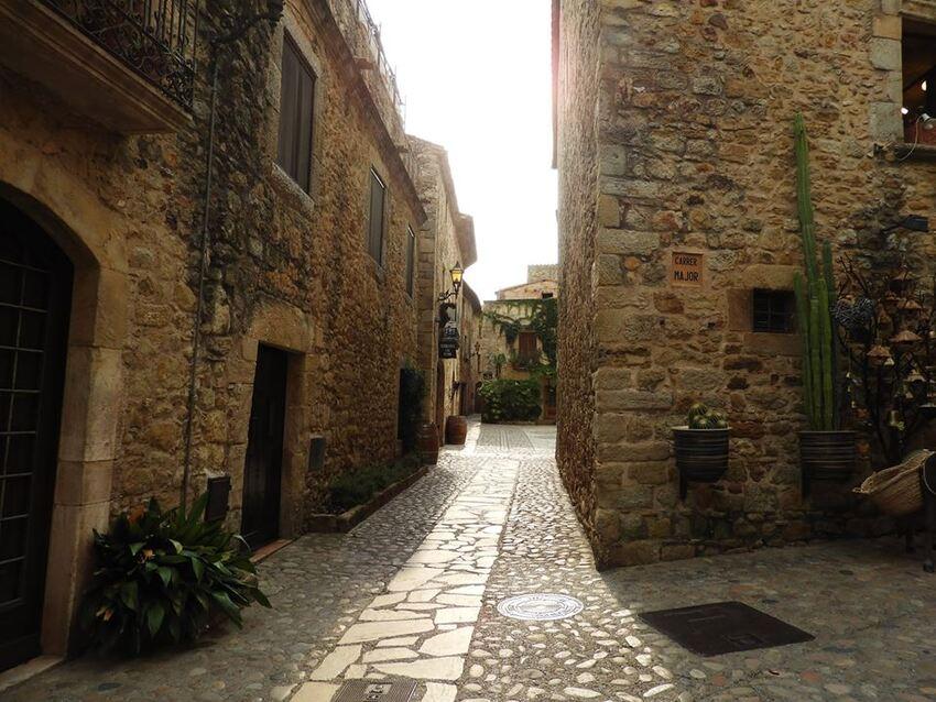 Village de Pals (fin de la visite)