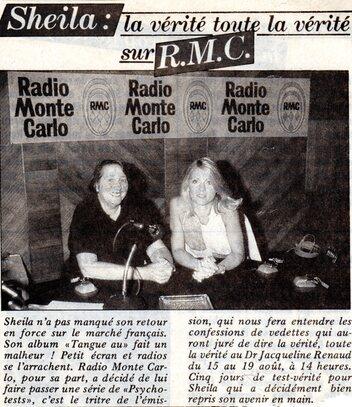 15 au 19 août 1983 : Psychotest sur RMC