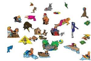 Summertime, a plexus puzzle