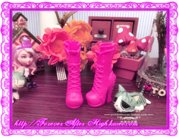 ever after high - prototypes Poppy O'Hair shoes