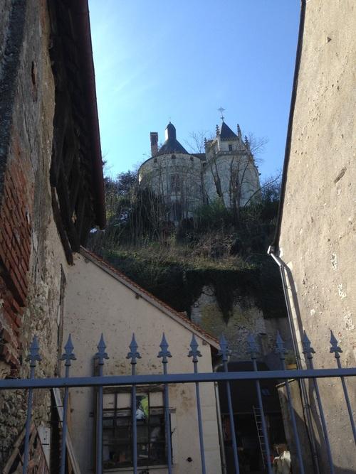 Château de Chaumont sur Loire - Pèlerinage de Bernard