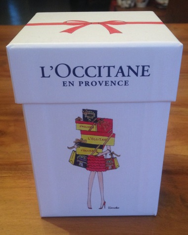 My little mini box de Noël spéciale l'Occitane