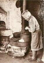 Grand-mère et ses recettes de veillées,