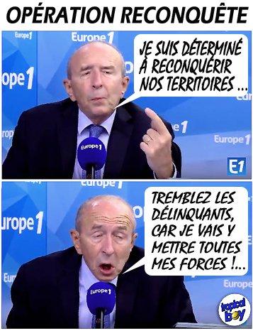 AhAhAh Macron a peur ...