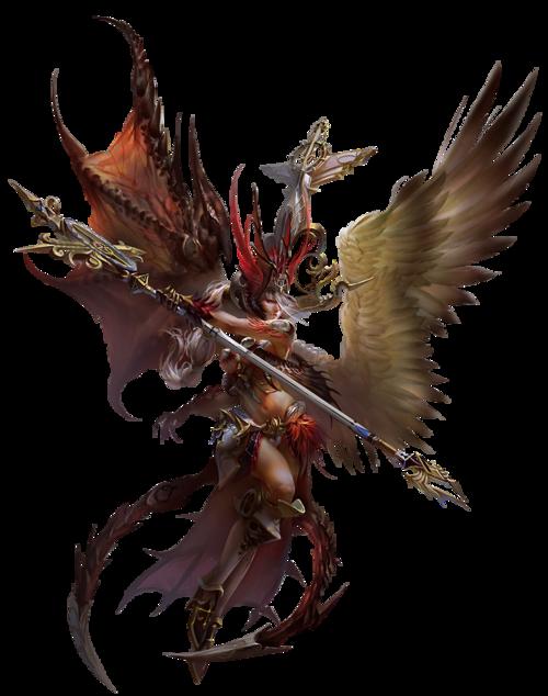 ange déchu - Yu Cheng Hong