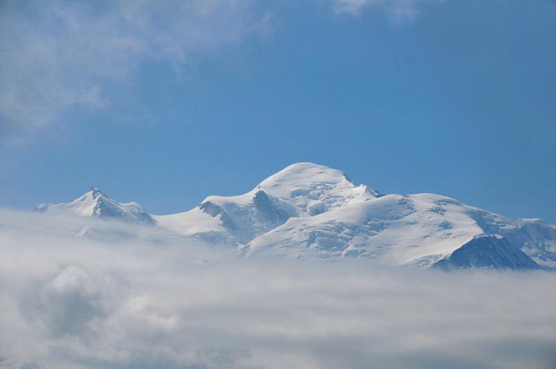 Mont-Blanc vu du Dérochoir