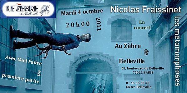 NF-Zèbre de Belleville 04.10.2011