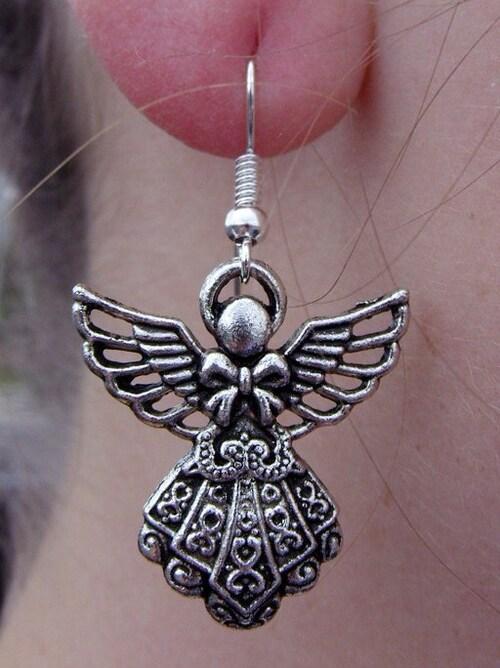 Quelques nouveautés côté bijoux in the city !!! boucles d'oreills ANGE