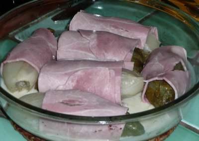 Recette de cuisine : Endives au jambon