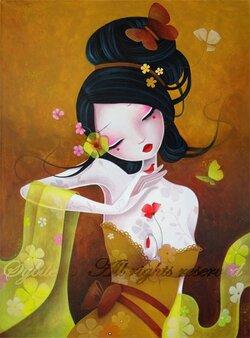 Peintre / Sybile