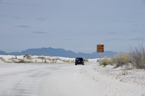 Jour 9 - White Sands National Monument, Nouveau Mexique