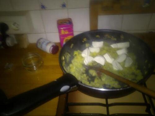 Ravioles aux poireaux et au fromage de chèvre