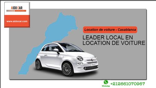 Location voiture Casablanca – Bienvenue chez le Leader !