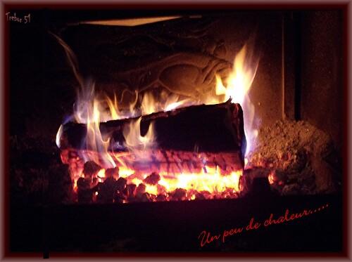 Je vous offre un peu de chaleur.....