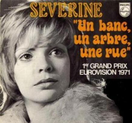 Un banc Un arbre Une rue...Eurovision 1971.