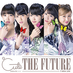 "Cover pour le 26ème single ""I miss you/THE FUTURE"""
