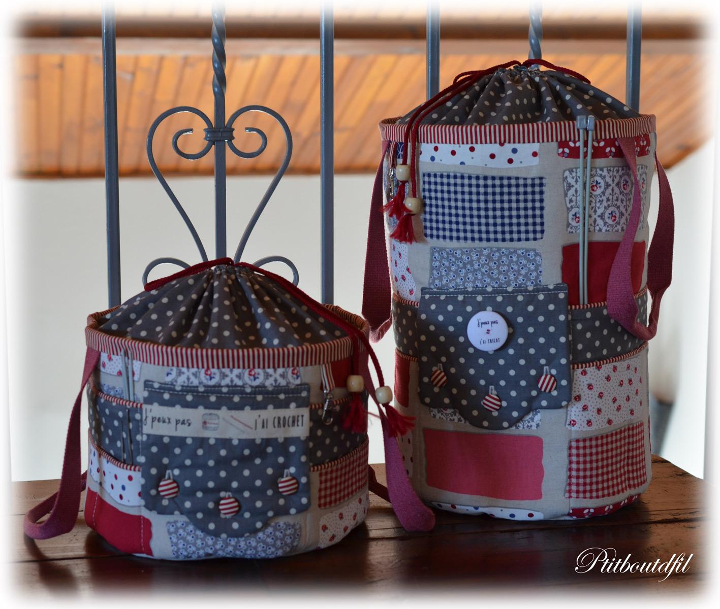 Un petit bout de fil - Tuto pour creer un sac en crochet ...