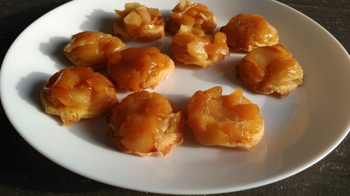 Mini tarte tatin