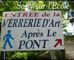 Soisy sur l'Ecole : Essonne (91) Verrerie d'art