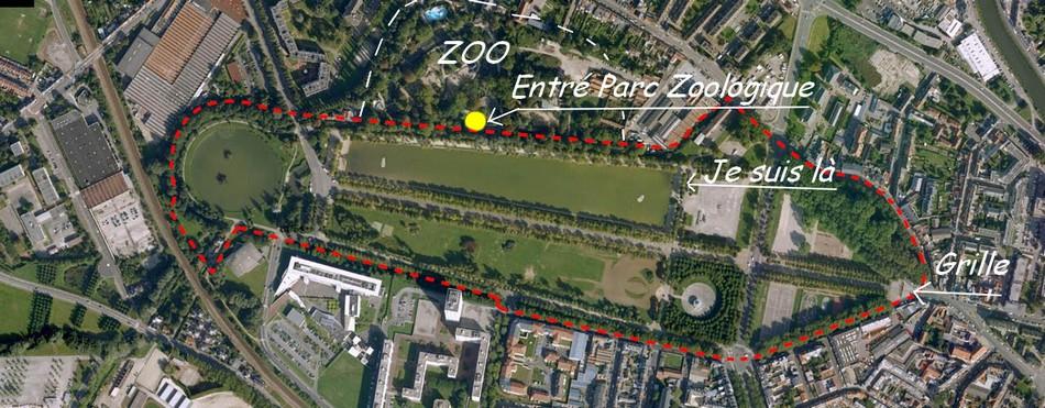 En route vers le Zoo d'Amiens