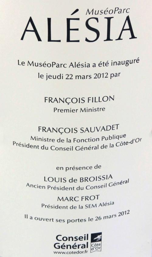 Visite au MuséoParc d'Alésia...