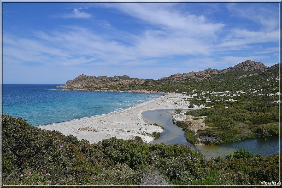 Jonction de l'Ostriconi à la mer - Corse 16-05-2014