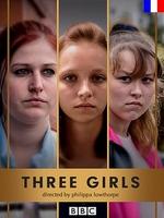 Three Girls : Entre 2008 et 2012, neuf hommes ont été condamnés pour avoir violé des jeunes filles mineures dans la ville de Rochdale. Trois d'entre elles racontent leur expérience traumatisante, leur innocence brisée... ----- ... Origine : Grande-Bretagne Acteurs : Maxine Peake, Paul Kaye, Jill Halfpenny, Ria Zmitrowicz, Molly Windsor Genre : Drame Durée : 60 Année de commencement : 2017 Année de fin : 2017 Titre original : Three Girls Critiques Spectateurs : 3,3  série télévisée britannique en trois parties Nombre de saison(s) : 1 Nombre d'épisode(s) : 3