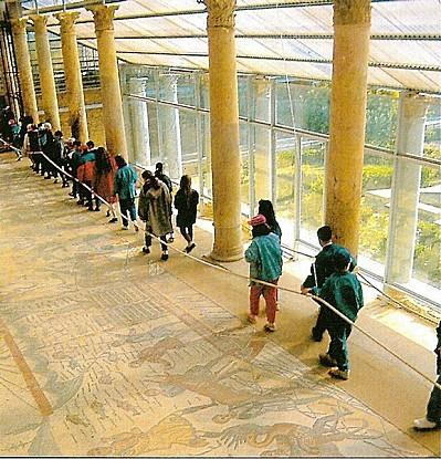 La Villa Romaine du Casale...Couloir de la Grande Chasse
