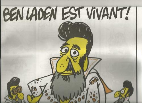 ©Charb - Charlie Hebdo, 8 mai 2011