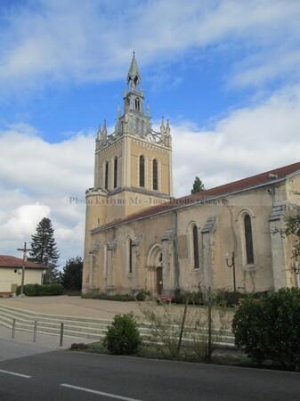 Eglise Notre dame de Lit à Lit-et-Mixe
