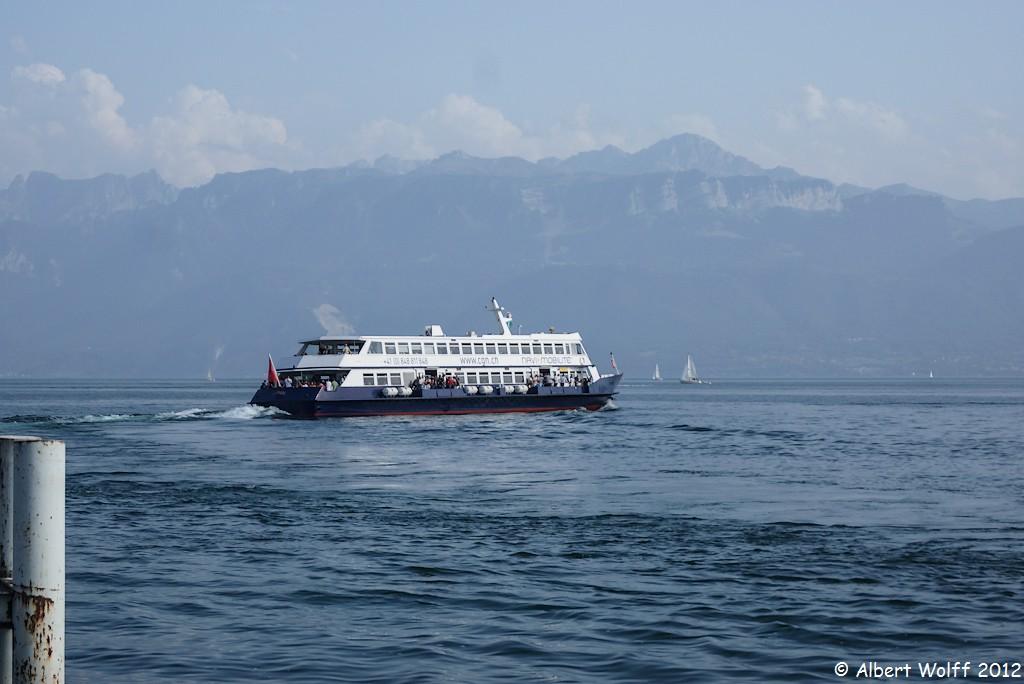 Ouchy, port de Lausanne