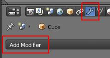 Les boutons Modifier et Add Modifier