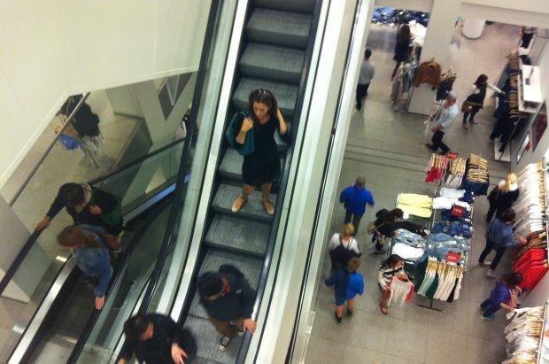 Mary fait les courses