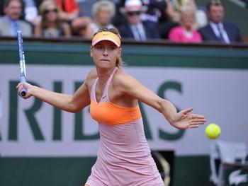 La détermination de Sharapova